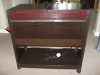 electric hostess trolley,all serving dishes intact, ideal to keep food warm for a BQ