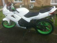125cc 2015 64 plate m.o.t one year