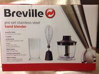Breville Brand new hand blender - stainless steel