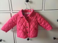 Baby JOULES girls outerwear 3 - 6 months