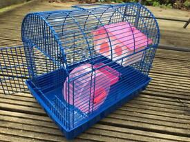 Hamster cage and ball and accessories