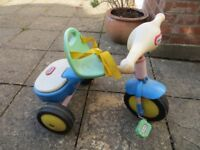 LITTLE TRIKES TIKE FADED BUT IN GOOD USABLE CONDITION £2.00