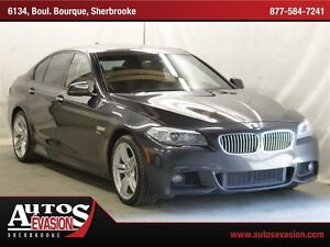 2011 BMW 535I i xDrive + M PACKAGE + MAGS 19 + CUIR + TOIT