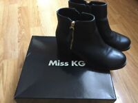 Miss KG ankle boots size 5 worn once