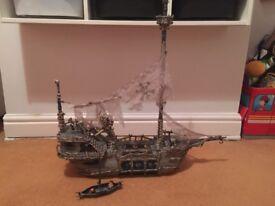 Mega Bloks skeleton pirate ship