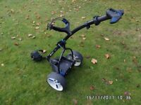 Motocaddy S3 Pro Electric trolley - accessory station - no battery