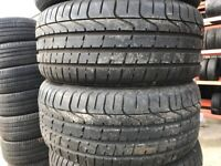 Part Worn Used Tyres, Pairs Good Condition 13 to 23 Inch 195/60/15. 205/55/16 225/40/18 65.45.17 etc