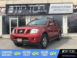 2012 Nissan Frontier PRO-4X ** Low KMs, 4X4, Leather, Sunroof **