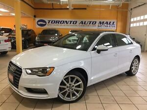 2015 Audi A3 1.8T+S TRONIC+PREMIUM PLUS+NAVIGATION+PANORAMIC