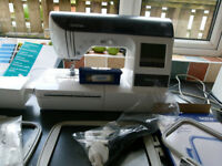 innovis 1250 embroidery sewing machine with extras