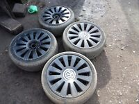 MK4 GOLF GTI ALLOY WHEELS 18 INCH AUDI TT 5X100 5X112