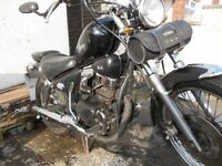 125cc - Motor Bike (Sym Husky Good condition, MOT, September)