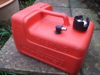 Genuine Tohatsu 12 Litres Fuel Tank for Tohatsu 4-Stroke Outboards, no fuel line