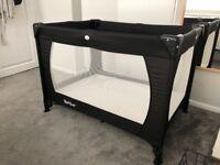 Complete Travel Cot Set, inc mattress & sheets