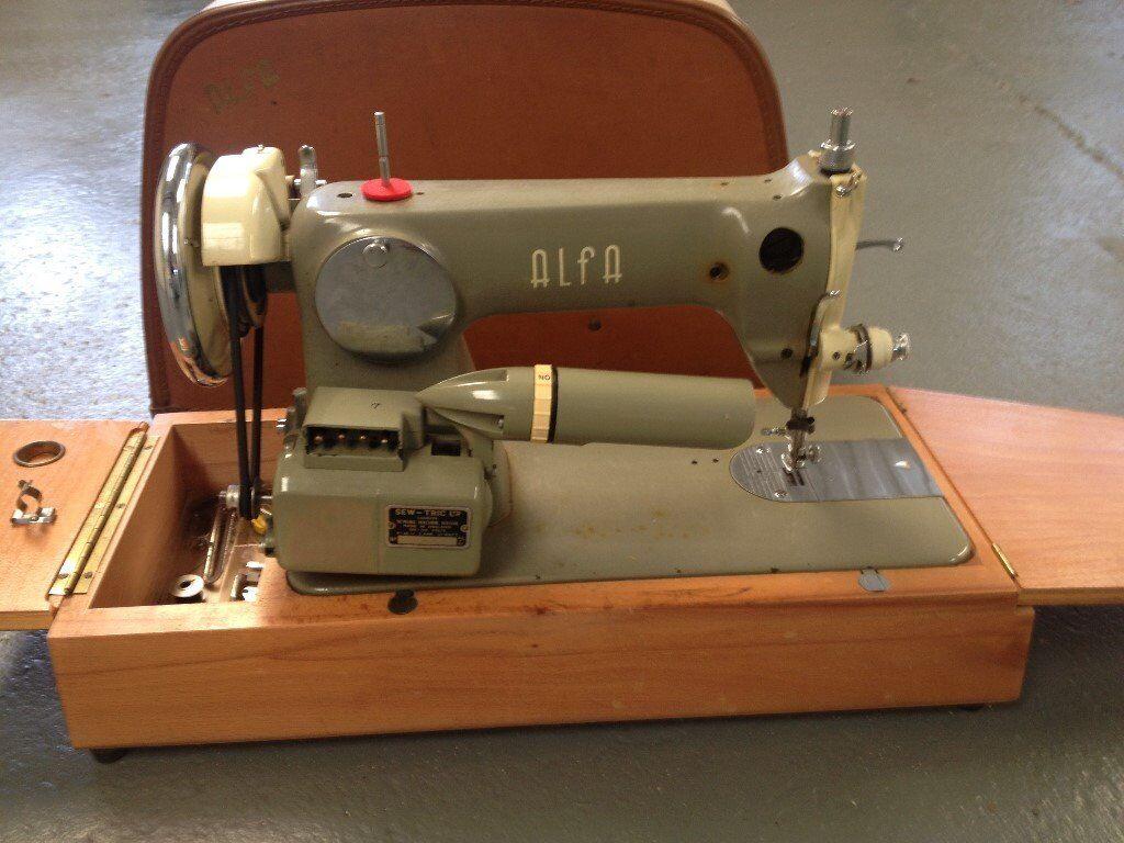 Vintage Alfa Sewing Machine In Middlewich Cheshire Gumtree