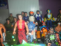 Action Man Figures, Vehicles and Accessories.