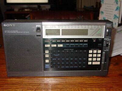 SONY SHORTWAVE RADIO MODEL ICF-2010.