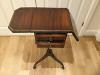 LAMP TABLE WITH DRAWERS £150