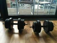 Dumbells sets of 20kg