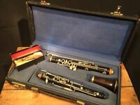 An Exceptional 1930s Cabart a Paris Junior Oboe in original case with reeds
