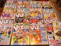 25 x viz comics