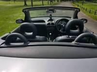 Peugeout 206 convertible year mot superb drive £599 px wel astra megane golf