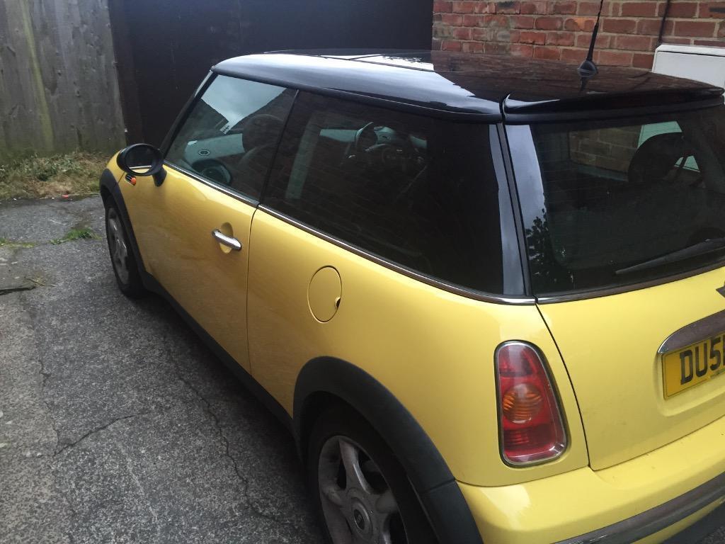 Mini Cooper 51 Plate 6 Mnth Mot Still Runs Amp Drives Sold