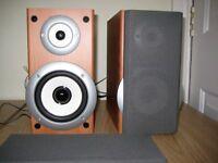 Pair of speakers as new