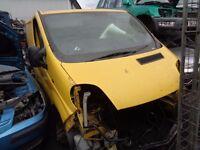 BREAKING --- Vauxhall Vivaro 2700DI SWB 1.9L Diesel ----- 2005