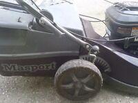Masport lawn mower..