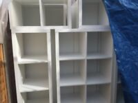 Shop and storage used wood shelfs for quick sale