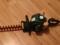 Petrol hedge trimmer and petrol strimmer