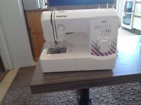 Brother lx17 sewing machine in excellant condition still boxed