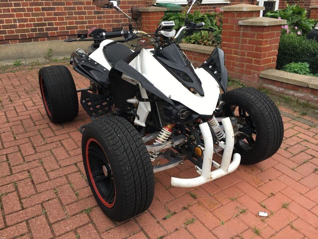2011 Road Legal Quad Bike Jinling JLA 250cc White/Black Drivable **BARGAIN*