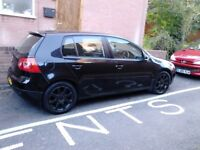 2004 VW GOLF GT TDI 5 DR BLACK