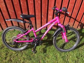 """Specialized hot rock pink suspension mountain bike 21"""""""