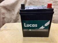 12 V Lucas Car Battery-7 months old.