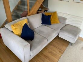 4 piece DFS sofa