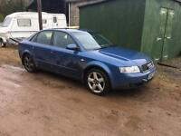Audi a4 1.9tdi breaking for spares