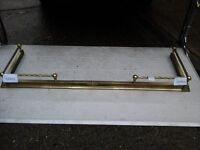 Solid brass fire surround (extendable)