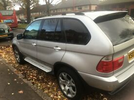 BMW X5 3.0 D sport - With nice plate