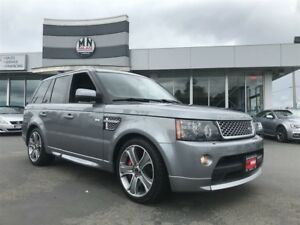 2013 Land Rover Range Rover Sport Autobiography SuperCharged Ful