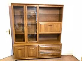 Lounge wall unit. Good condition