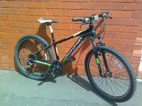 C Boardman Mountain Bike - Aluminium frame , front suspension .......