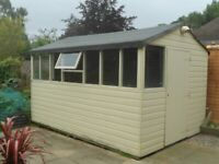 £350 ONO large shed/workshop - dismantled and protected from weather