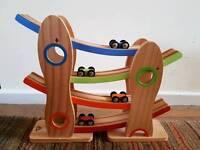 ELC wood car ramp