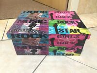 Rock Star Storage Box