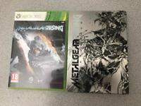 METAL GEAR RISING REVENGEANCE STEEL BOX EDITION XBOX 360 GAME