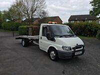 FORD TRANSIT RECOVERY TRUCK CAR TRANSPORTER 2.4 DIESEL 119K 2 OWNERS LAST OWNED 5 YEARS £4995