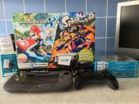 Nintendo Wii U console 32gb plus games and extras